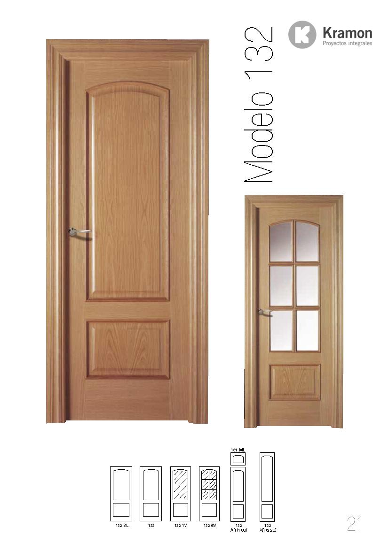 Cat logo de puertas kramon - Puertas norma catalogo ...